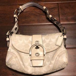 Coach authentic hobo purse